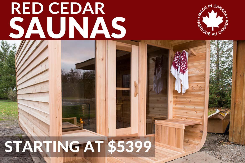 red cedar saunas collingwood blue mountain